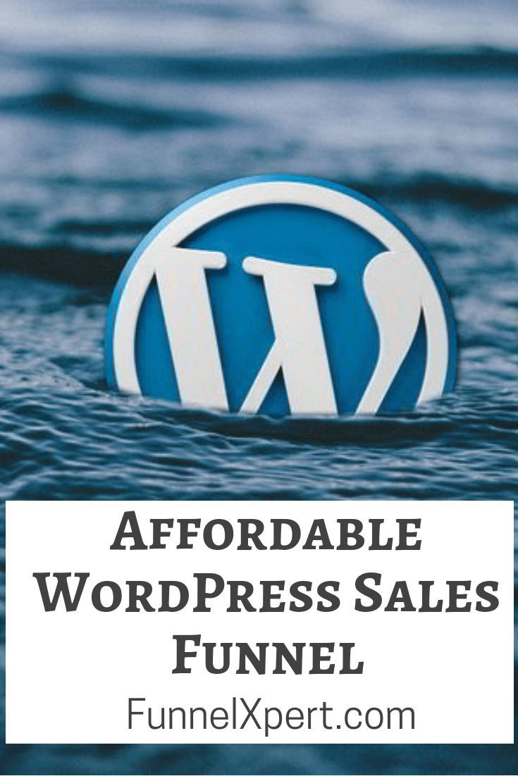 Affordable WordPress Sales Funnel