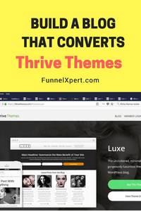 Thrive Themes website designs, Build a blog that converts