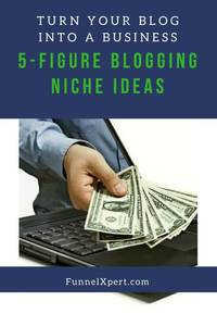 5-Figure blogging niche ideas