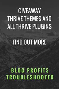 Thrive Themes, Thrive Leads, Thrive Architect Giveaway