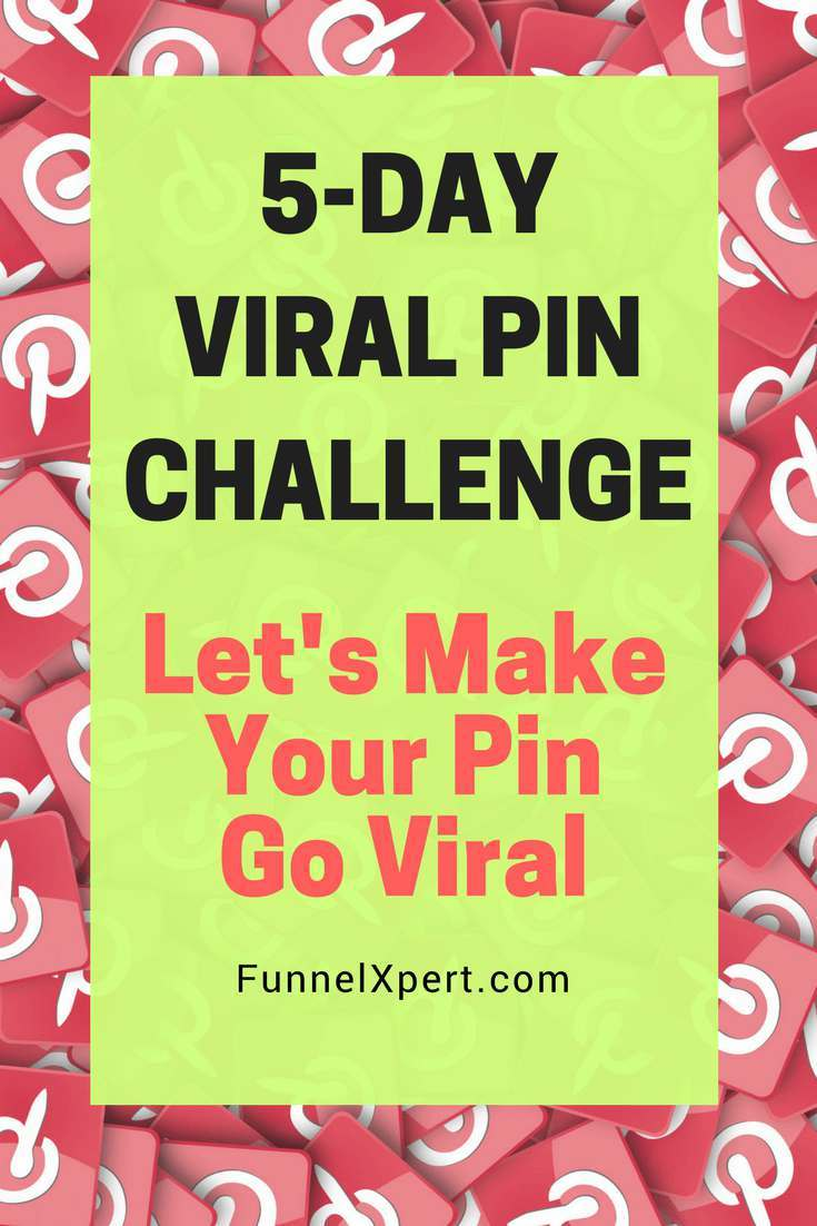 5-Day Viral Pin Challenge - Let's make your pin go viral