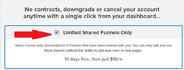 clickfunnels 19 dollar plan
