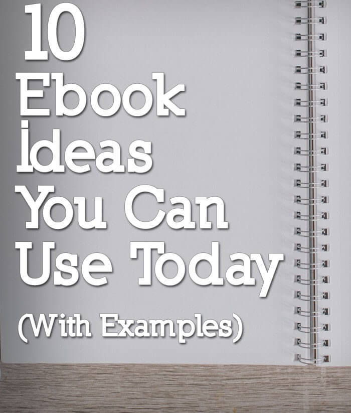 ebook ideas