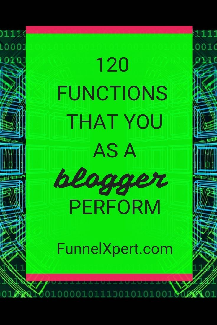 blogger org chart