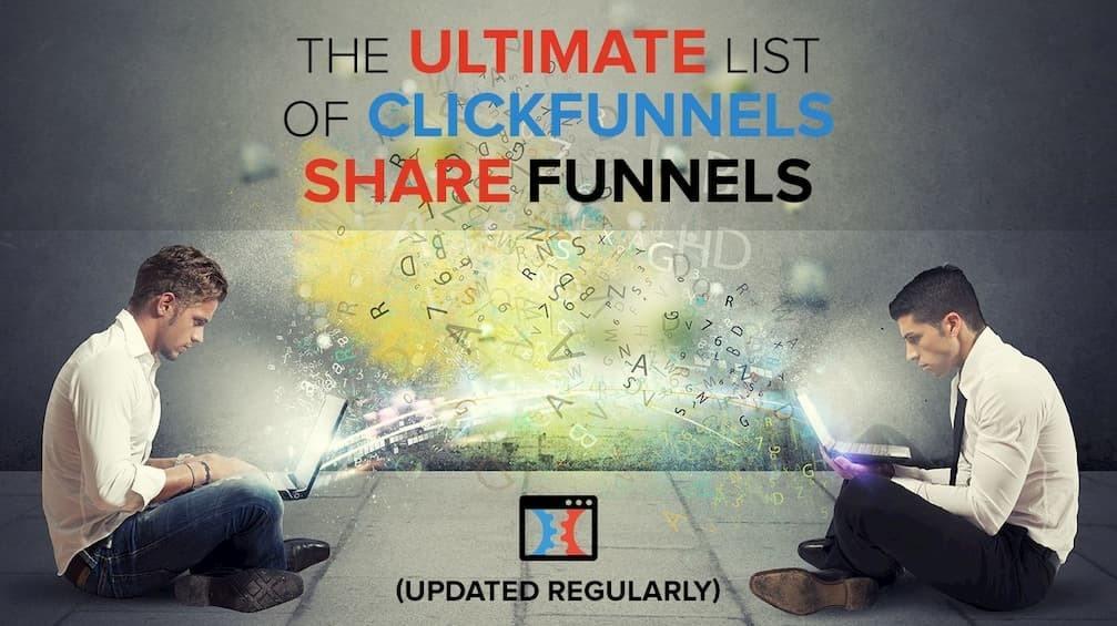clickfunnels share funnels