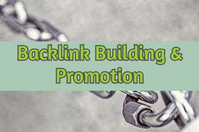 backlink building, promotion