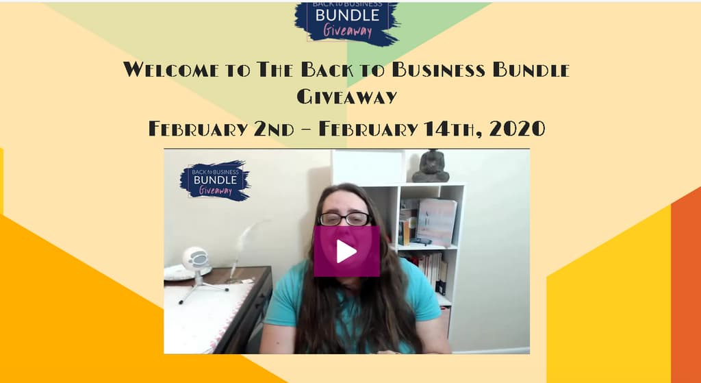 giveaway funnel individual downloads page