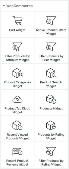 WooCommerce artchitect Elements